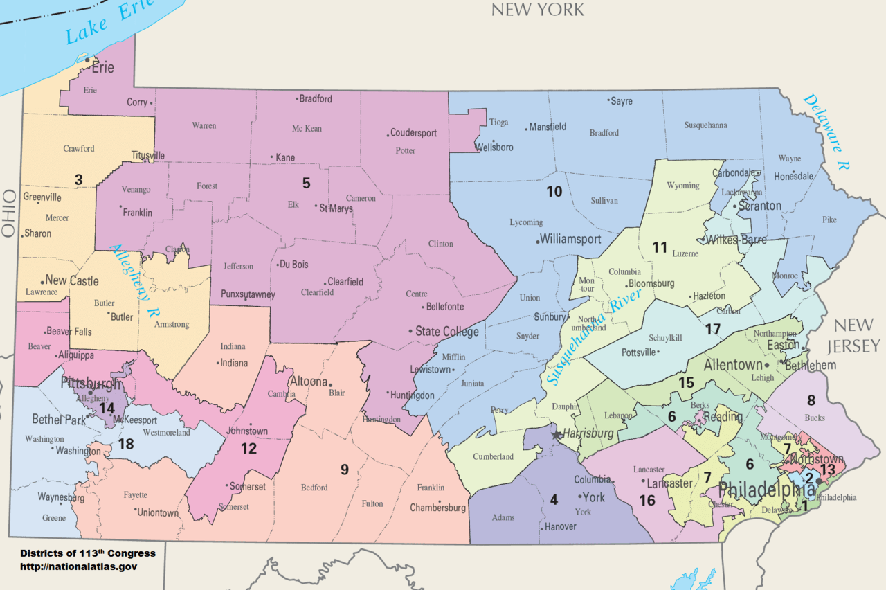 Pa County Election Map  These Counties Could Point To The Election     existing pa map with pa county election map