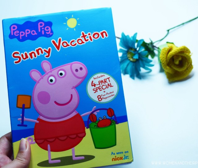 Peppa Pig Sunny Vacation The Perfect Summer Series For The Kids Plus A Few Cool Peppy Pig Toys