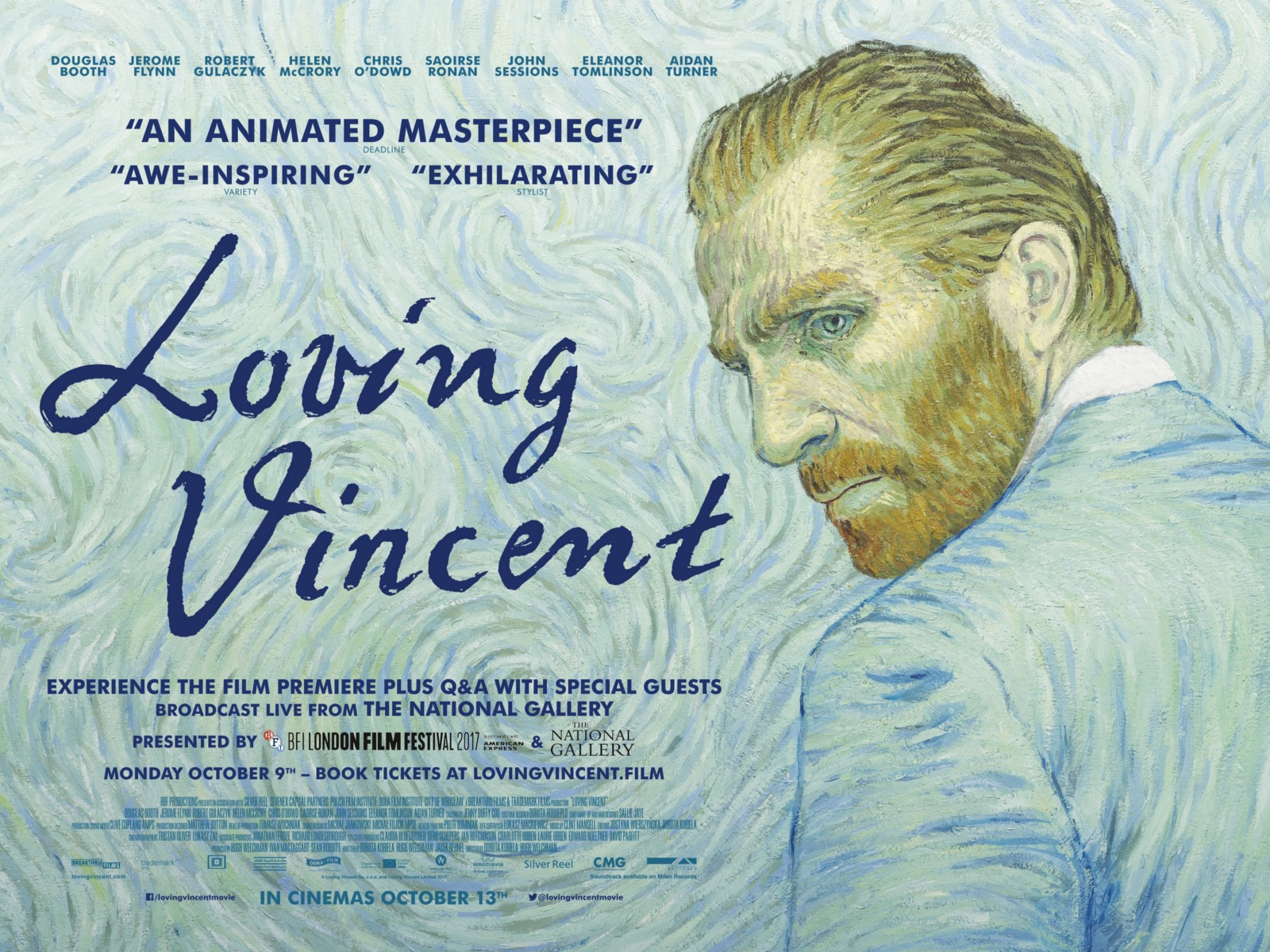 Movieysis Loving Vincent Steely Dan Rather Medium