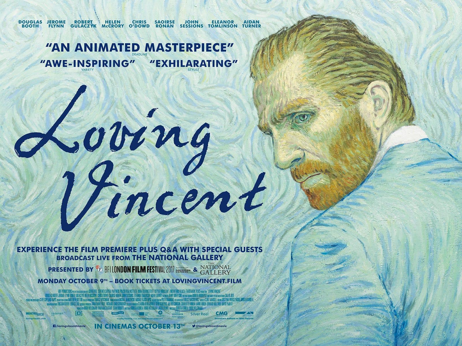 Movieysis Loving Vincent Steely Dan Rather Medium