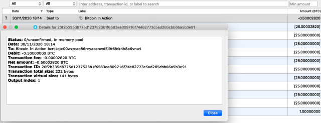 file di configurazione bitcoin