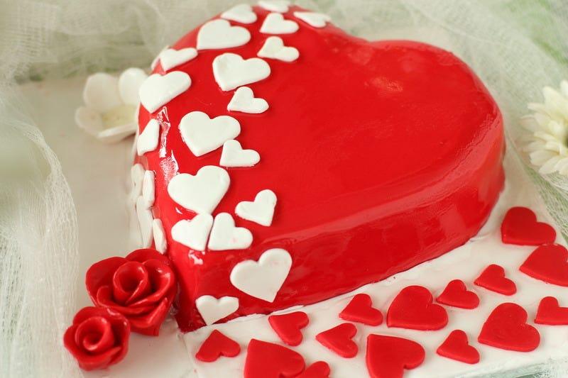 Ein weiteres Bild von valentine day cake heart shape Valentine Day Cake Heart Shape