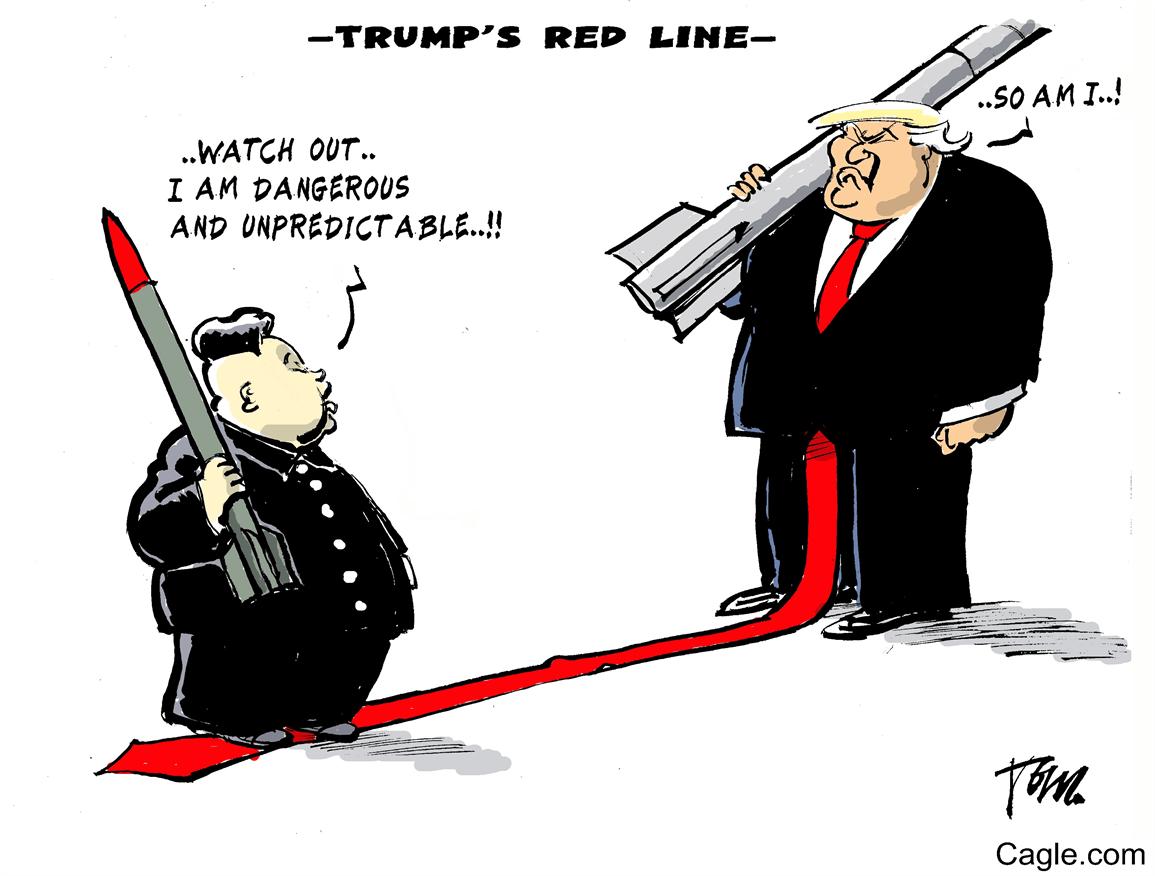 Trump S North Korea Red Line Keith Medium