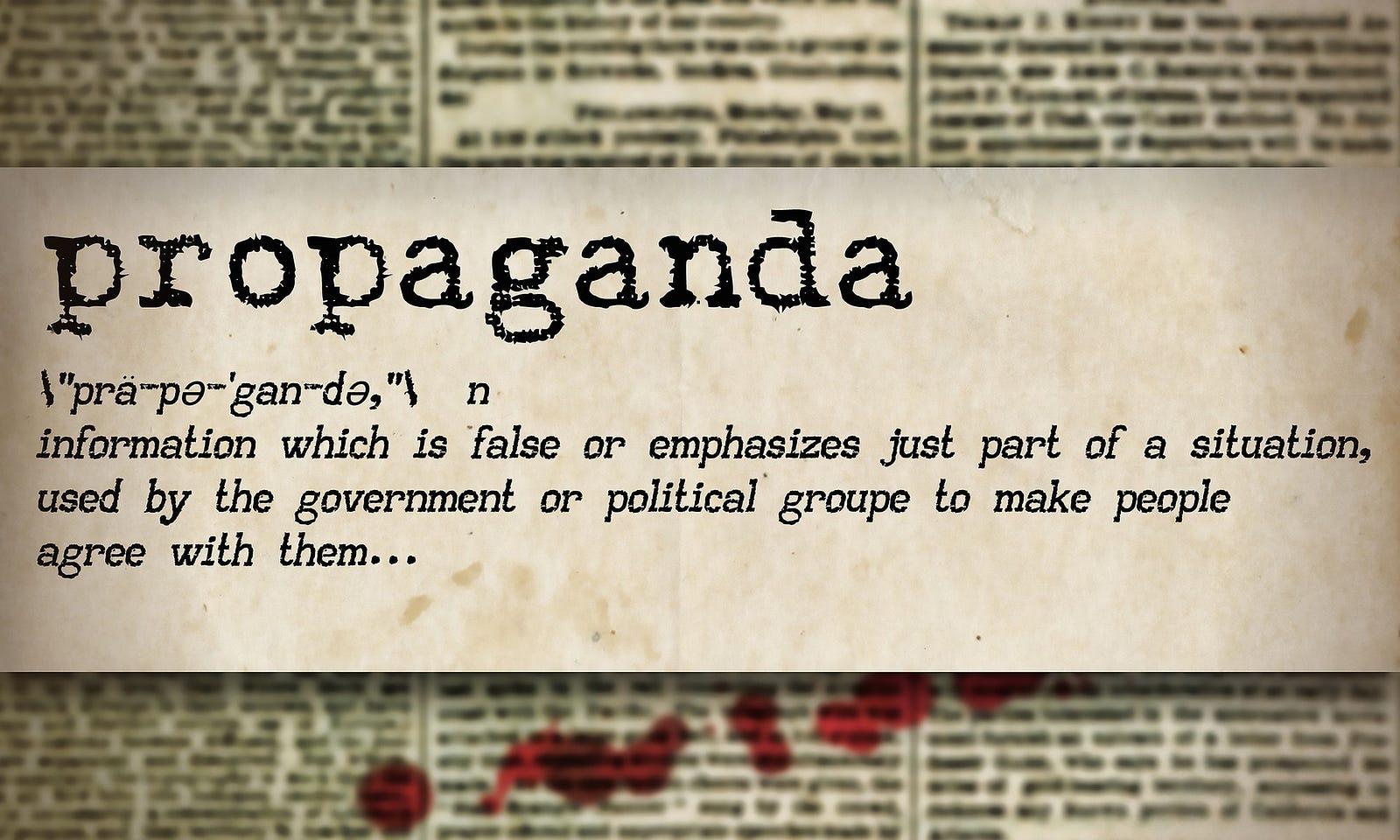 All Media Is Propaganda And Subject To Bias Leonox Medium