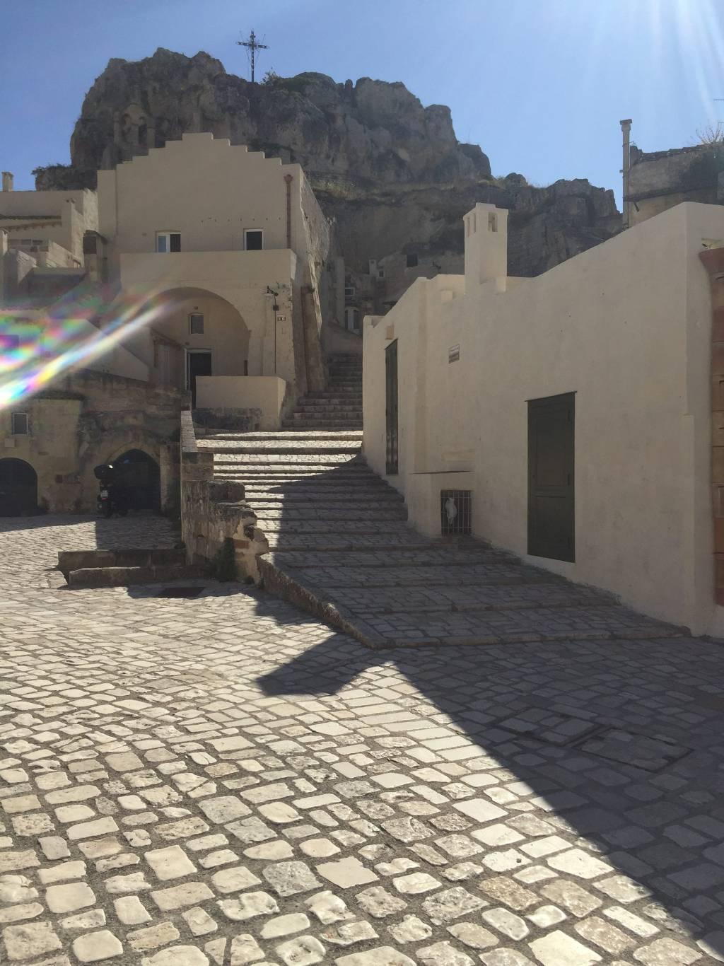 Street scene in Matera