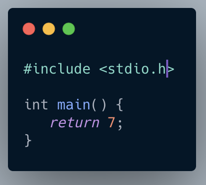 C Code