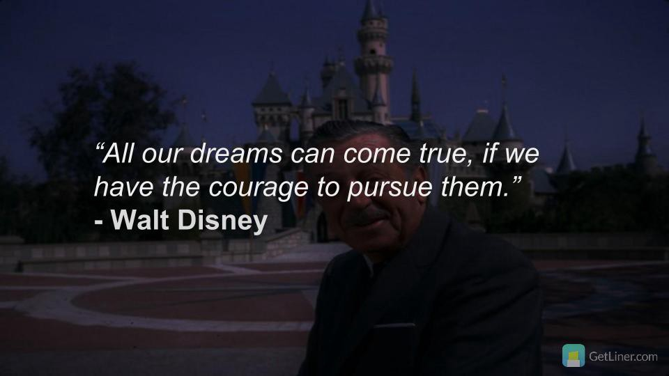 Top 5 Walt Disney Quotes on Imagination     HIGHLIGHT     Medium Highlight and Save Your Favorite Quotes on Liner