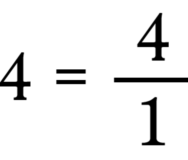Any Number Can Be Written As A Fraction