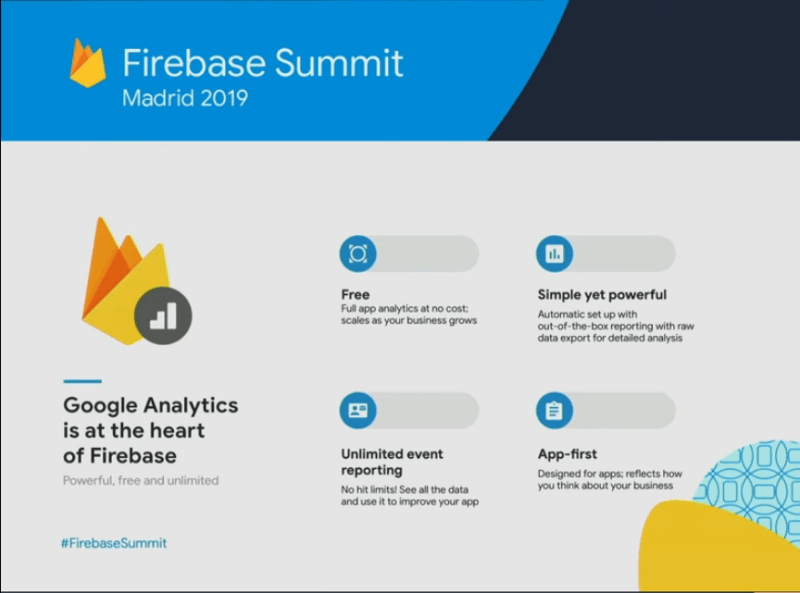 What's New in Firebase 2019..(Google Analytics)