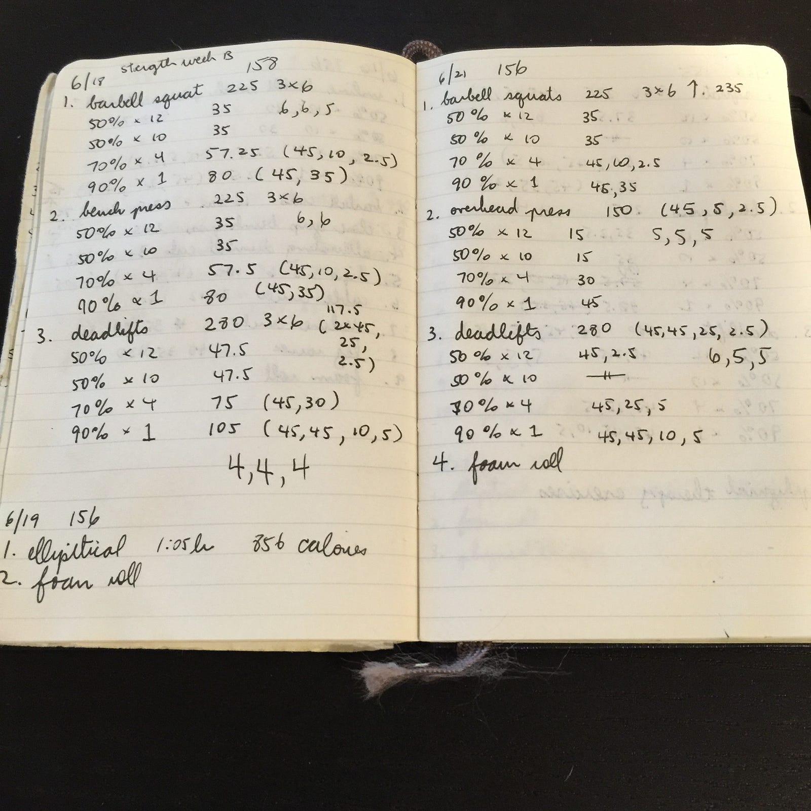 My 100 Day Personal Fitness Challenge Willson Mock Medium