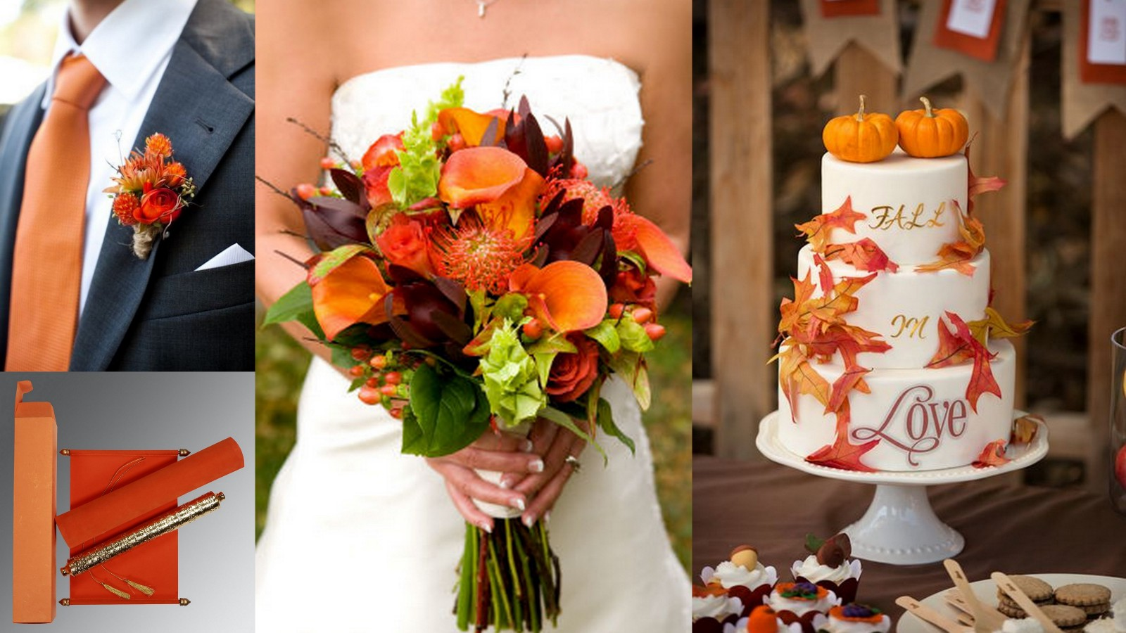 5 Tips For Choosing Scroll Cards For Your Fall Weddings
