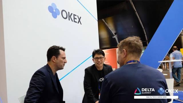 DELTA Summit OKEx Malta Tech Week—Jay Hao, CEO of OKEx, at DELTA Summit