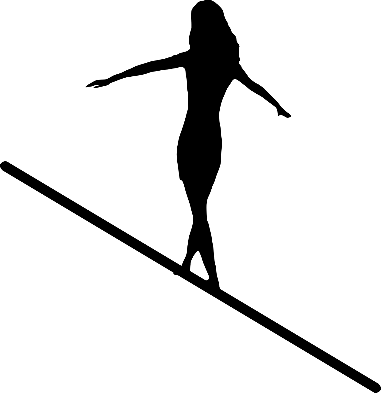 How To Stop Being The Tightrope Walker When Your Life