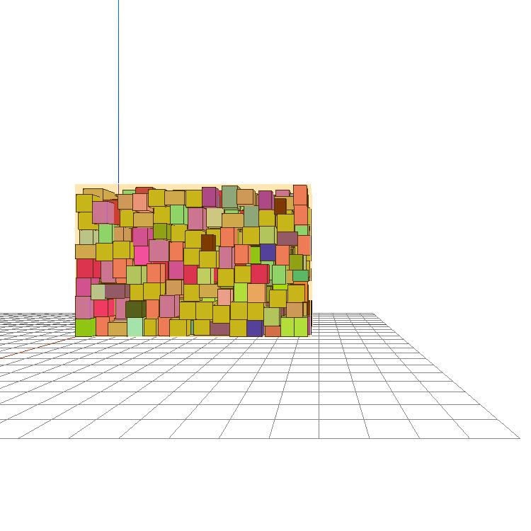 3D packing simulation by Lattice - Locus' proprietary bin packingengine