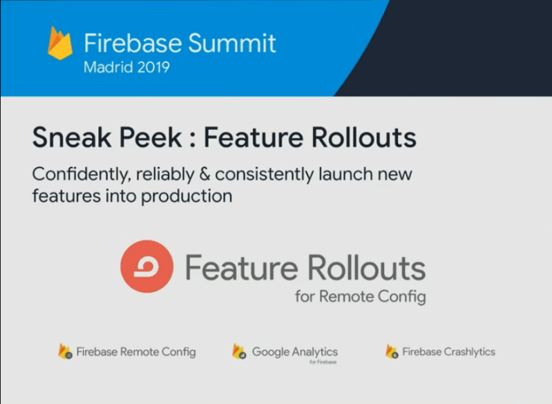 What's New in Firebase 2019…(Feature Rollouts)..