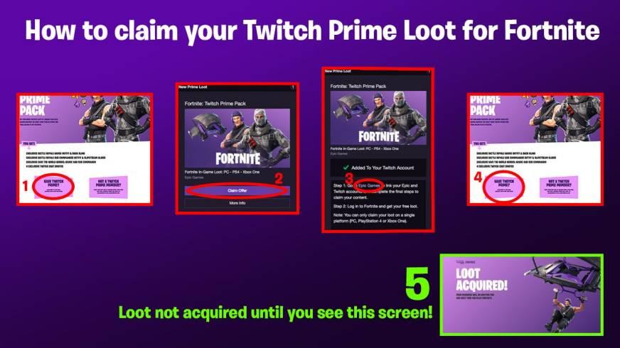Nouveau Skin Twitch Prime Fortnite | Free V Bucks ...