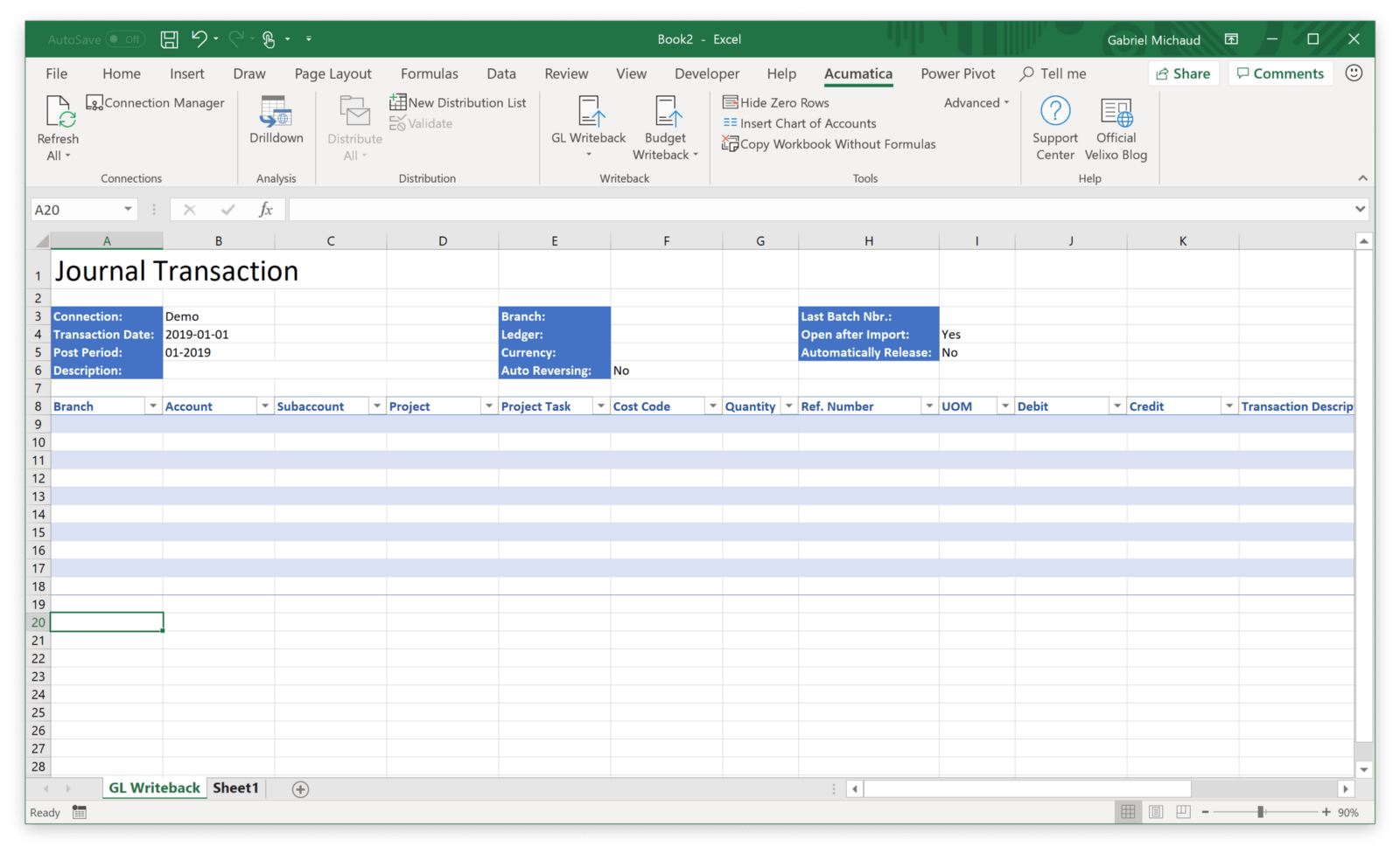 Gl Writeback Create Allocations Accrual And Any Type Of