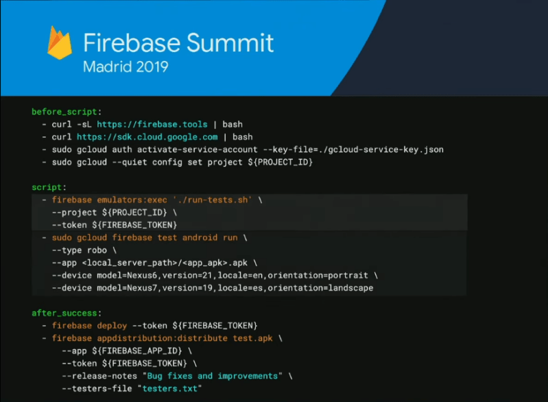 Automation Script for App Distribution…...(Firebase 2019)