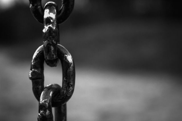 Like the links of this chain, conscious integrity binds your values to your actions