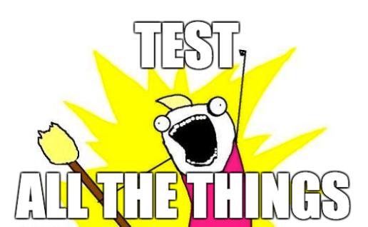 Тестирование приложений