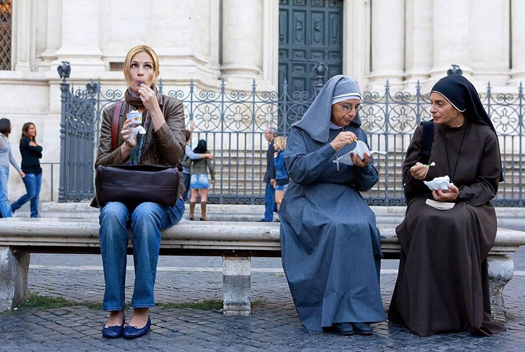 Image result for eat pray love spaghetti scene