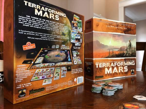 Terraforming Mars – Hacked Tabletop – Medium