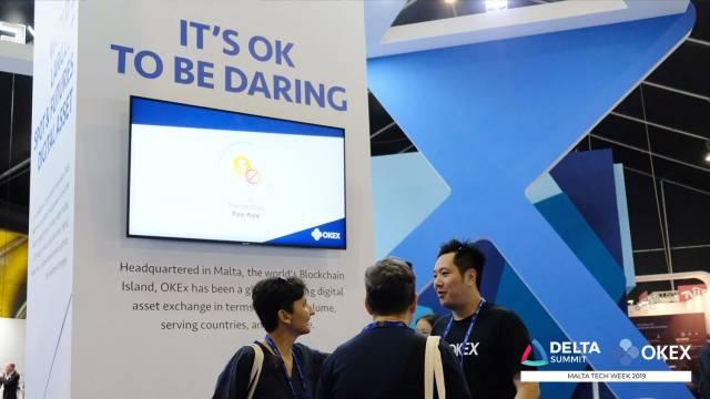 DELTA Summit OKEx Malta Tech Week —Andy Cheung, OKEx's Head of Operations, at DELTA Summit