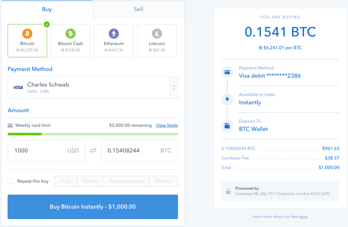 How to Buy Bitcoin on Coinbase 6