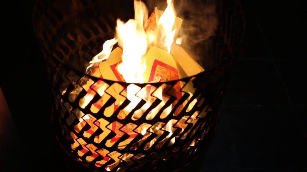 燒衣紙的科技啟示 – 共享寫作空間 – Medium