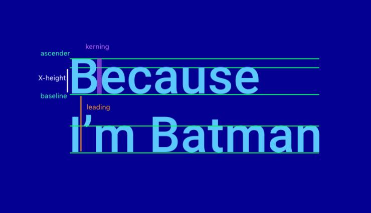 Как подобрать шрифты для iOS-приложения