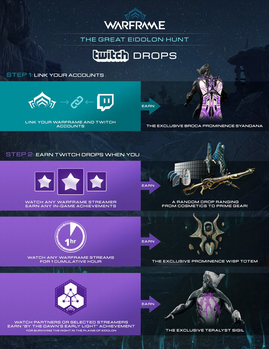 Watch Warframe On Twitch And Get Free Drops Twitch Blog