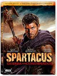 dvd spartacus 3