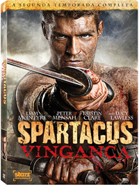 dvd spartacus 2