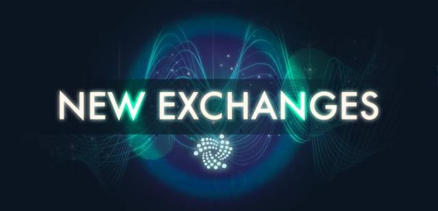 IOTA: New Exchanges