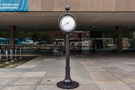 The Light Clock. Image courtesy of Carnegie Museum of Art. Photo by Bryan Conley.