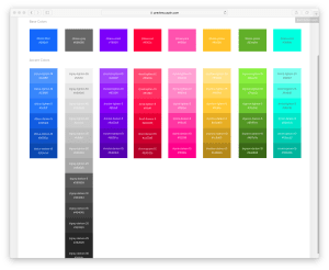 Design System Sprint 2: One Color Palette to Rule them All