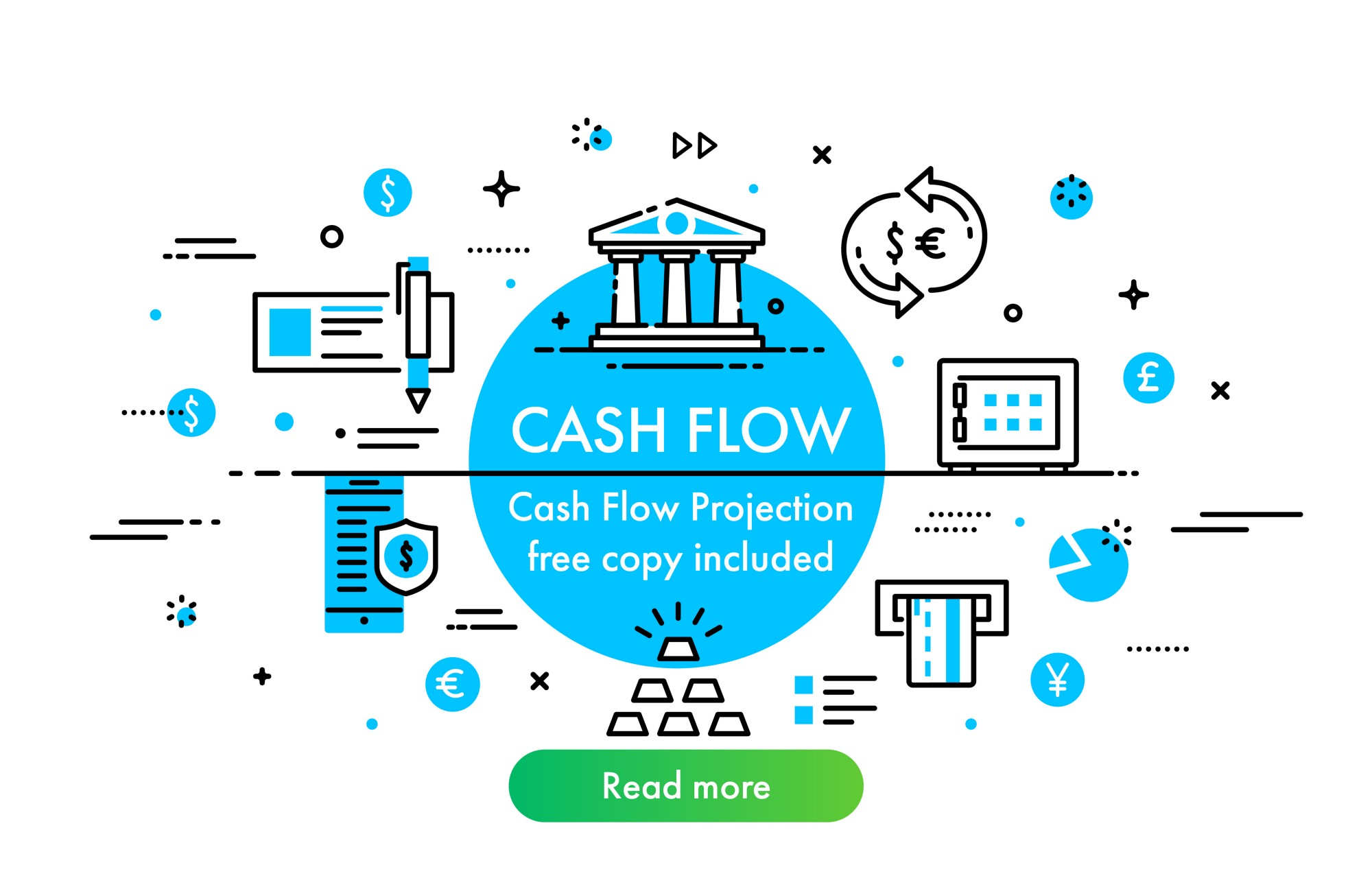 Cash Flow Projection Template Included Henry Sheykin