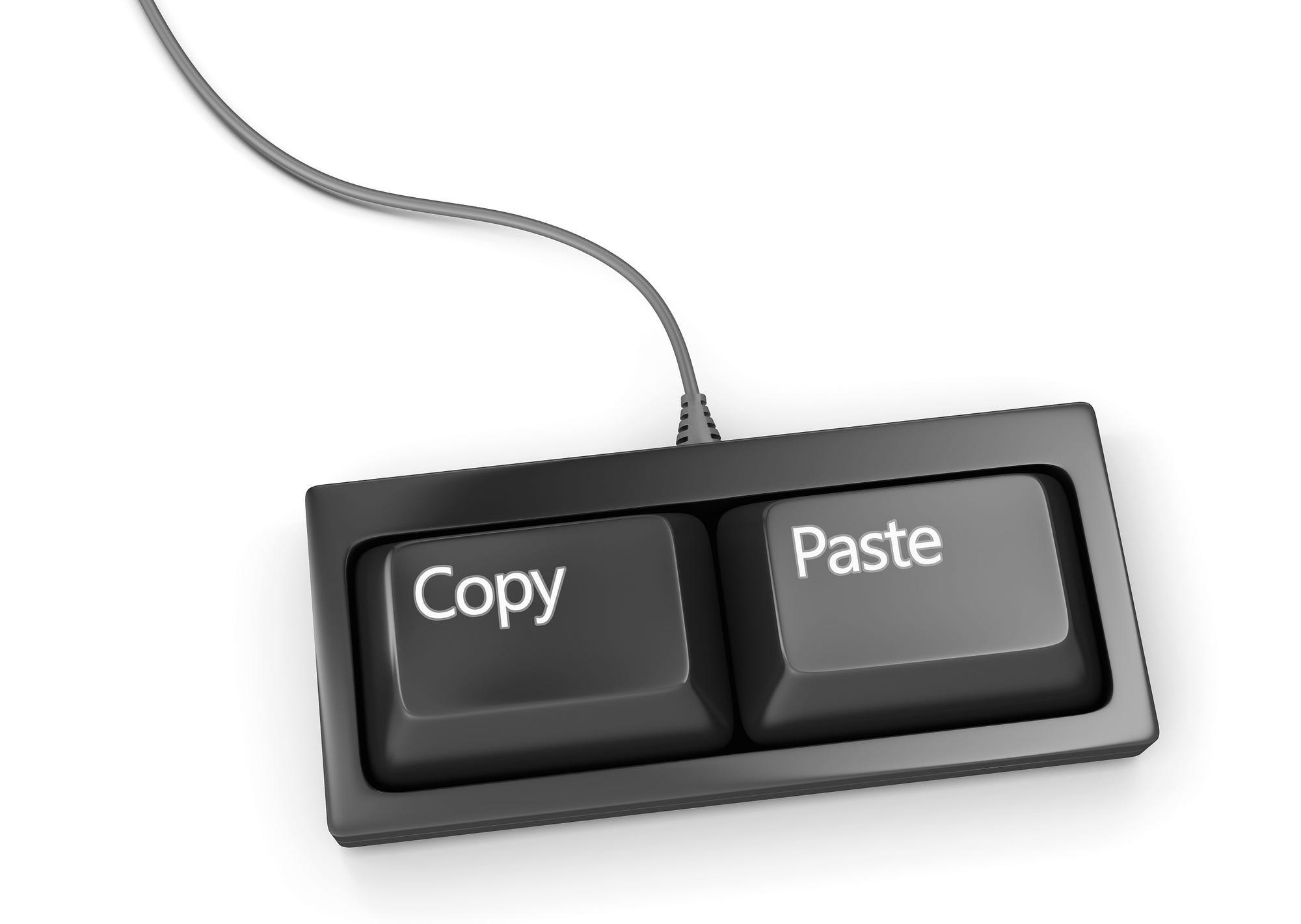 Copy Paste Inc A Wander Around Digital Identity Medium