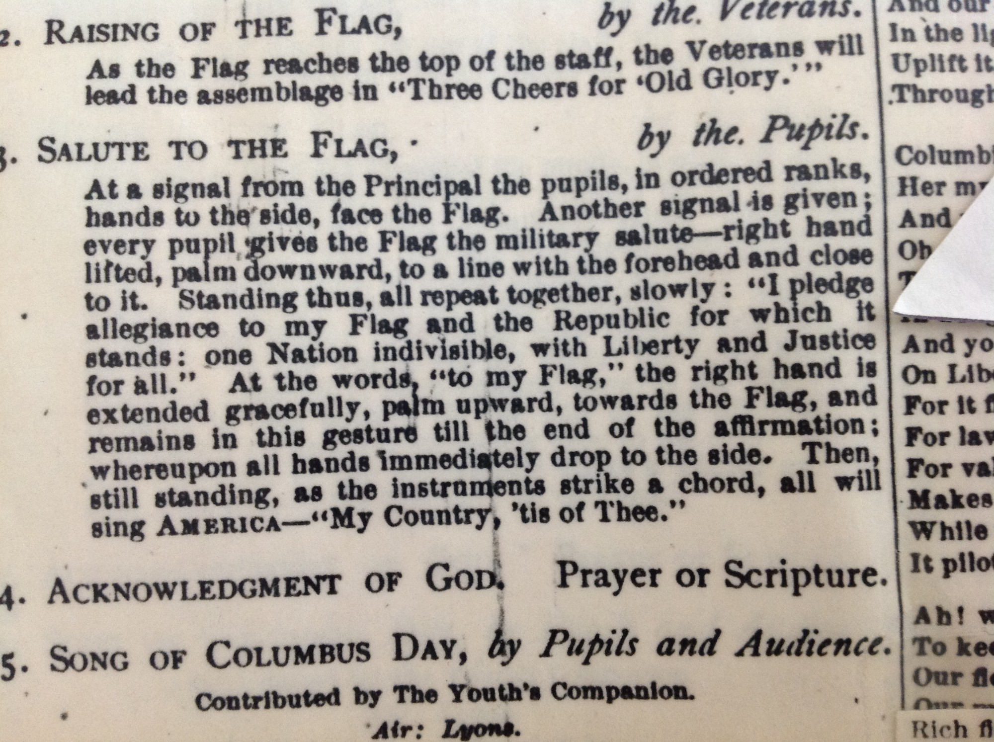 The Weird History Of The Pledge Of Allegiance The