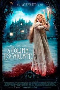 A-Colina-Escarlate-Poster