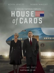House of Cards A Terceira Temporada Completa em DVD