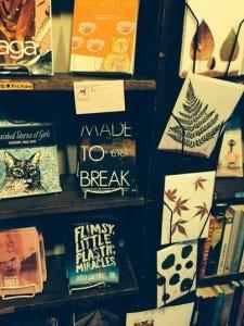 MTB on Shelf at Left Bank Books Seattle