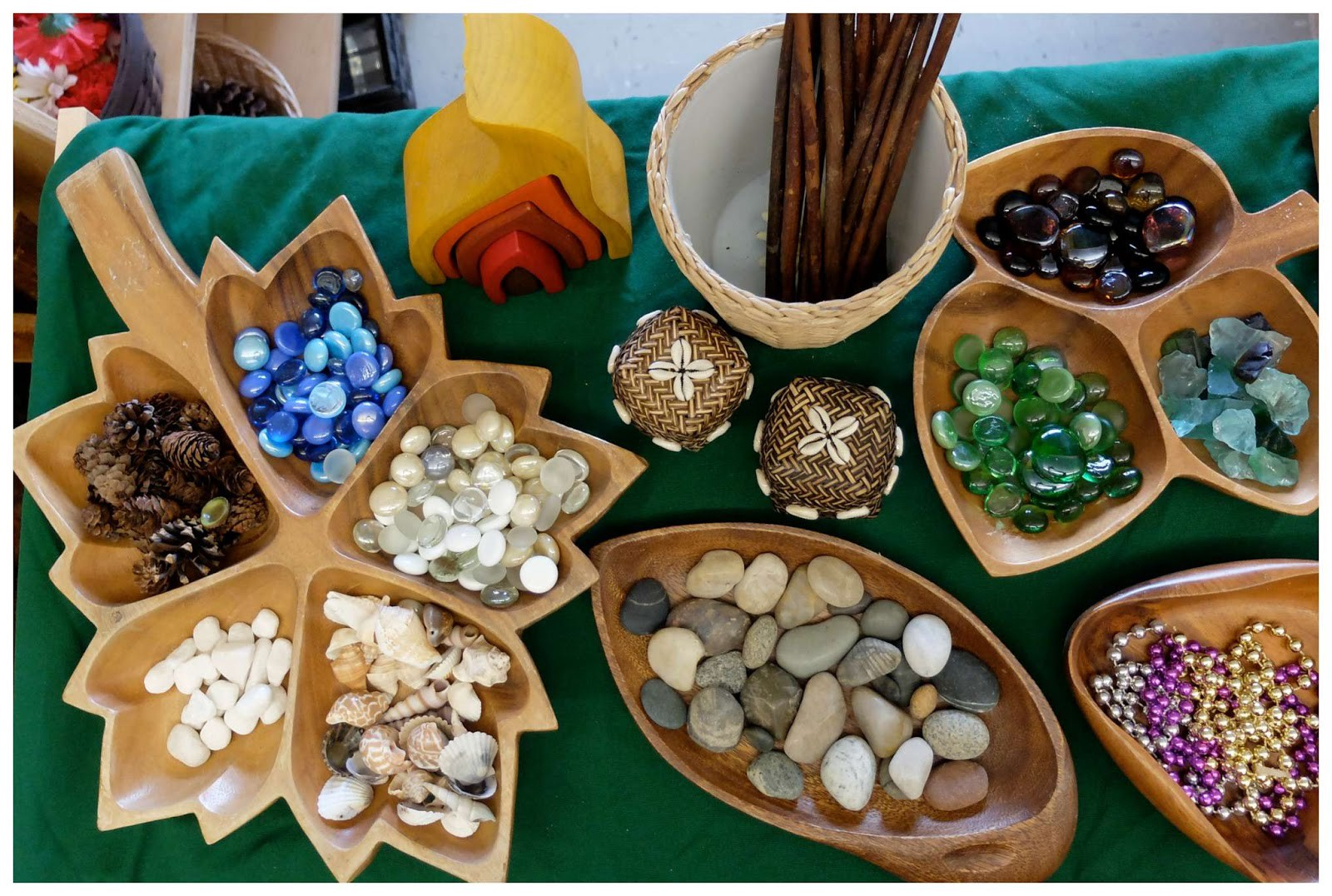 Give Children Loose Parts Instead Of Toys Early