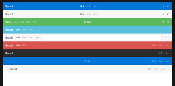 Bootstrap 4 Navbar Examples WDstack Medium