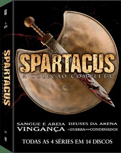 dvd spartacus 1-4