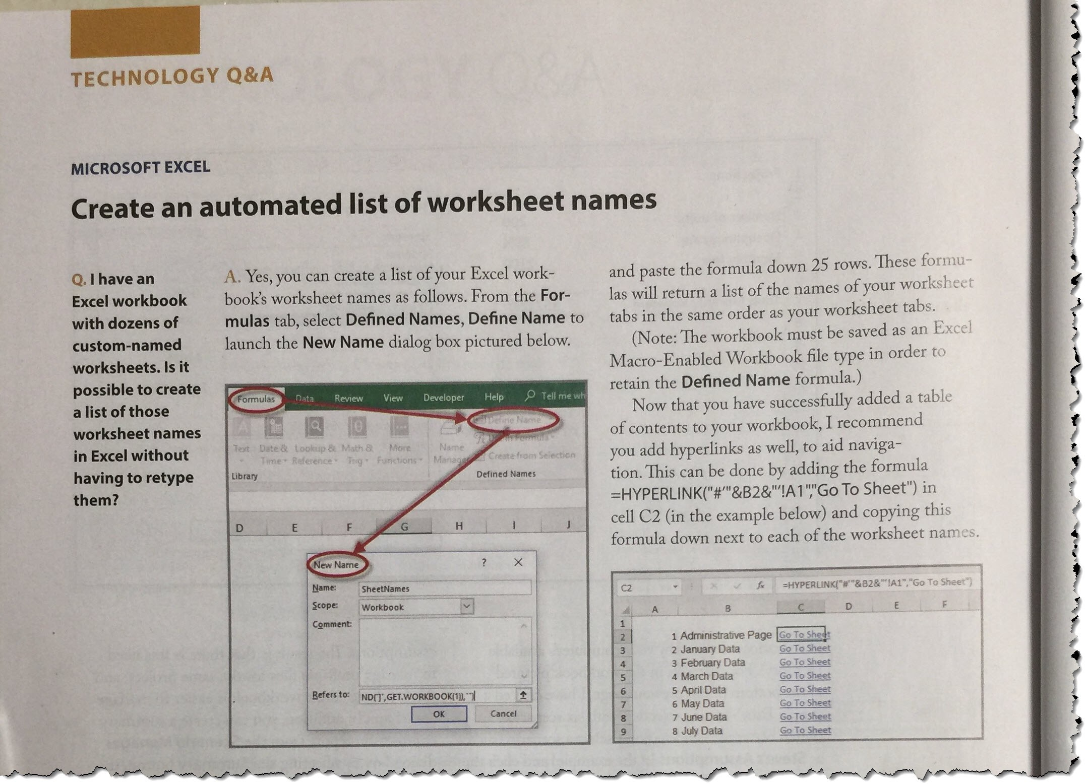 Advanced Excel Tips On Flipboard By Don Tomoff