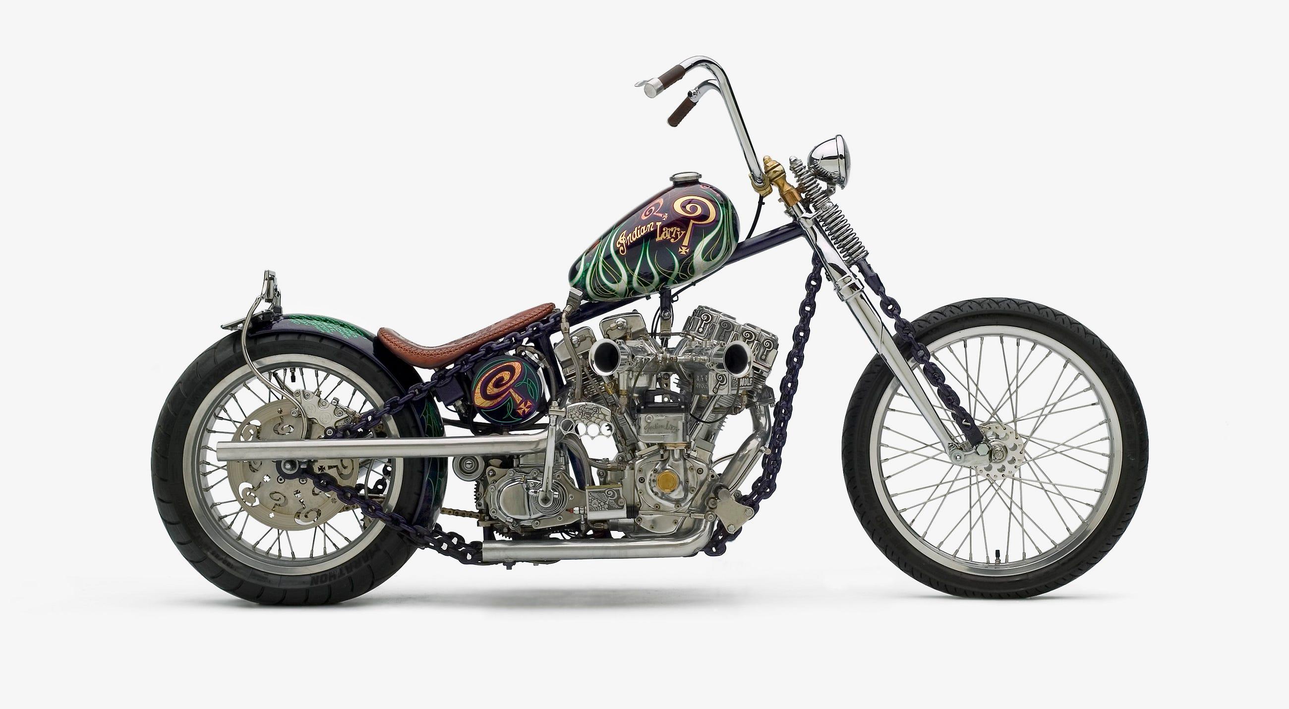 Indian Larry Haut Moteur Art Of The Chopper Medium
