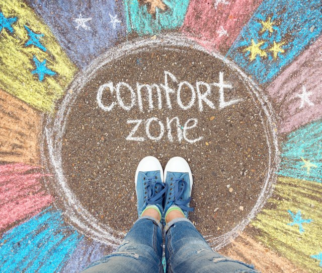 Life Begins Outside The Comfort Zone