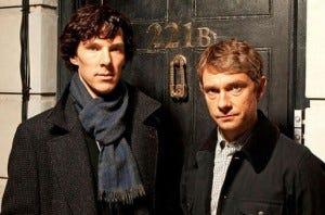 Sherlock: Tao fofinhos esses dois!
