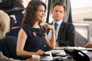 O casal presidencial de Scandal